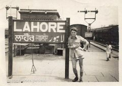 lahore railway station sign